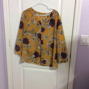 Spring sheer blouse!